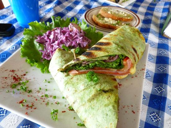 Moya's Place: italian chicken wrap- yum!