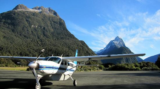 Air Milford: Cessna Caravan at Milford Sound Airport