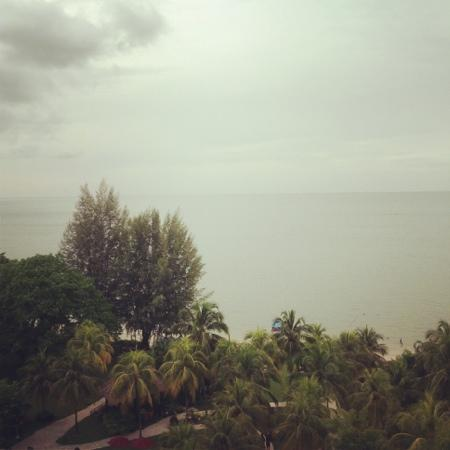 PARKROYAL Penang Resort, Malaysia: The view from the Grand Deluxe