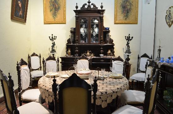Museo Casa de la Zacatecana : comedor