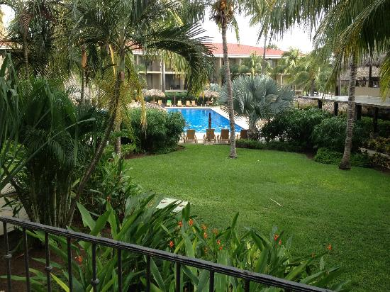 Flamingo Beach Resort And Spa: View from our room