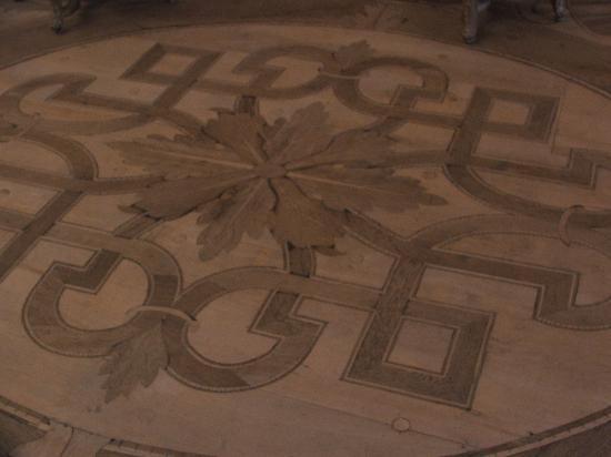 Neue Residenz: Original wood floors circa 1700