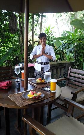 Bidadari Private Villas & Retreat: Good Service and beautiful Staff