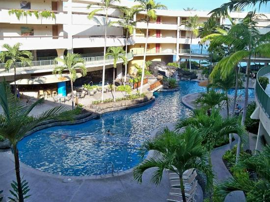 Sheraton Kona Resort Spa At Keauhou Bay Firts Swimming Pool Surrounded By The