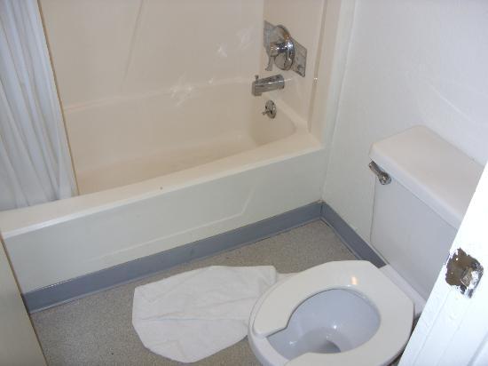 Motel 6 Fayetteville: bath room