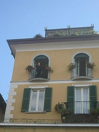 Hotel Du Lac: Balcony of our room