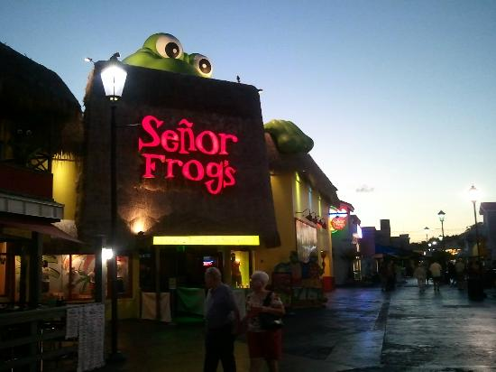 Senor Frogs Broadway At The Beach Myrtle Beach Sc