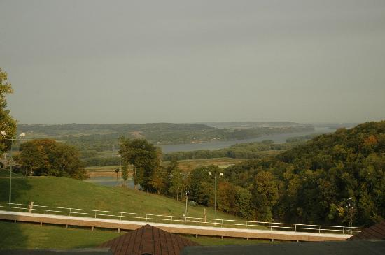 Chestnut Mountain Resort: View from Hotel