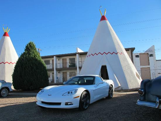 Wigwam Motel: typical WIgwam