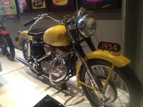 Harley-Davidson Museum: 1954. A great year.