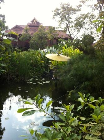Oriental Siam Resort: de tuin