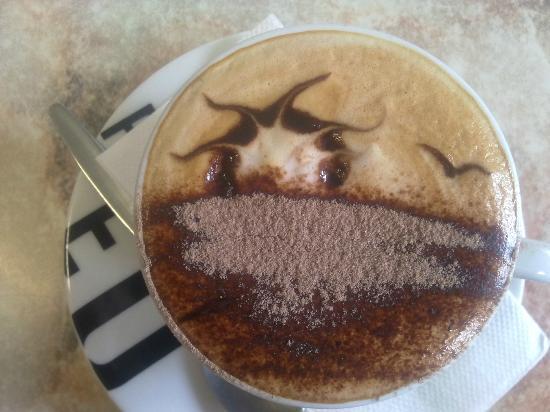 Brownz Courtyard Cafe: Coffee - Sunrise on Murray