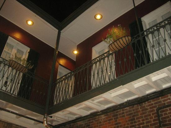 Inn on St. Peter: Balcony