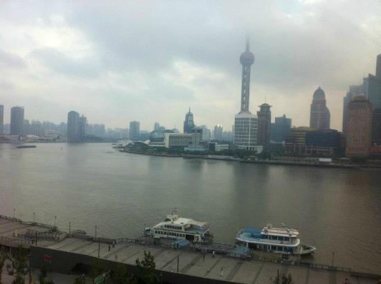 Les Suites Orient, Bund Shanghai: A view from the resturant