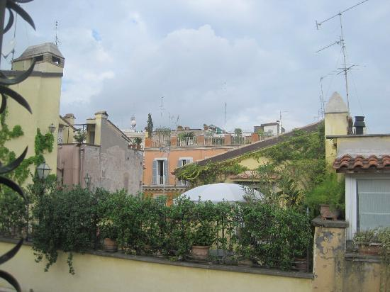 Hotel Grifo: roof top view