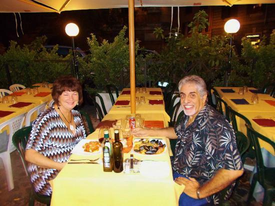 La Piazzetta Ristorante : Karen and I