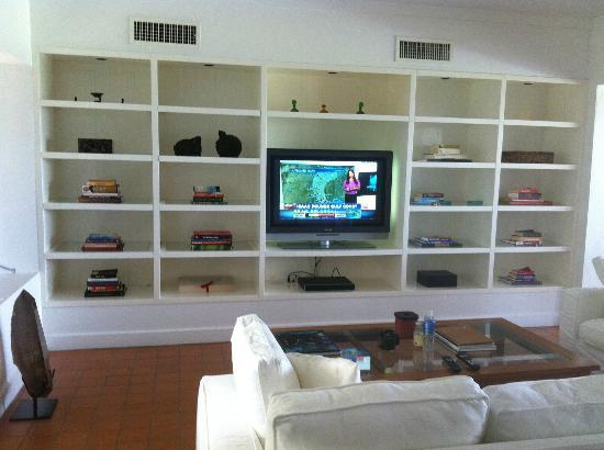 COMO Parrot Cay, Turks and Caicos: The TV in the living room