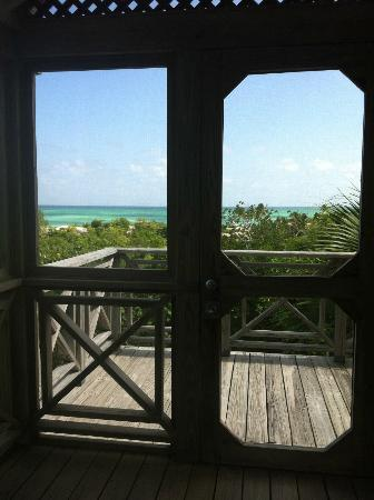 COMO Parrot Cay, Turks and Caicos: Beautiful view from the second floor