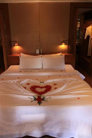 Nakamanda Resort & Spa : Bed room sala villa