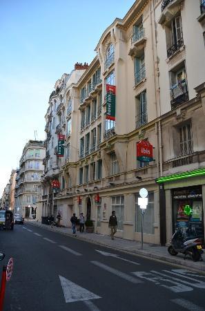 Ibis Nice Centre Notre-Dame : Ibis Notre-Dame Rue De La Martine, Nice