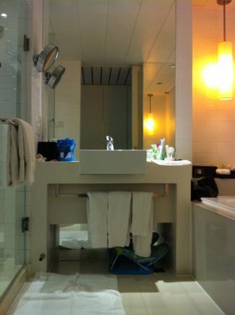 Grand Mercure Shanghai Century Park: deluxe double room bathroom