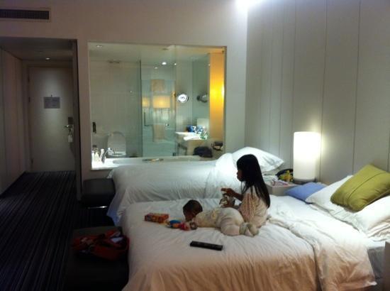 Grand Mercure Shanghai Century Park: deluxe double room 