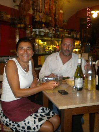 Vineria La Fraschetta: I fantastici proprietari
