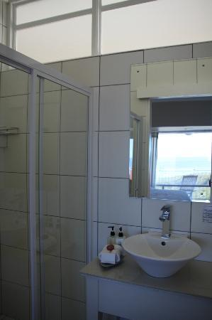 Hermanus Beach Villa: Superb shower