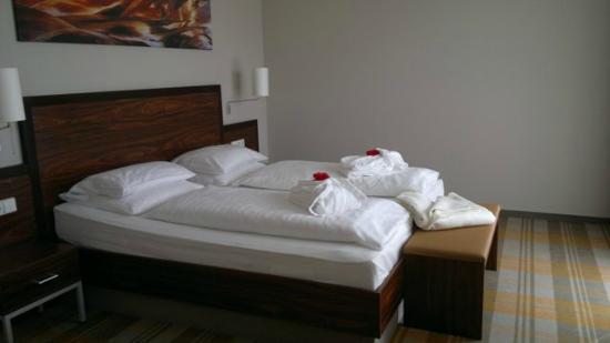 Hotel Liebmann : Schlafbereich des Appartements