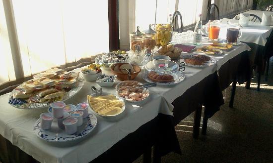Hotel Milano: buffet colazioni