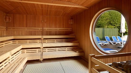"""Hotel """"Das Ludwig"""": Sauna"""