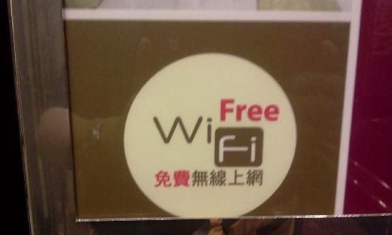 Regal Kowloon Hotel: Free for 15 minutes of your WHOLE stay only! ha ha ha