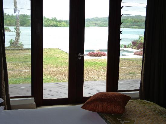 Eratap Beach Resort: View from the bedroom