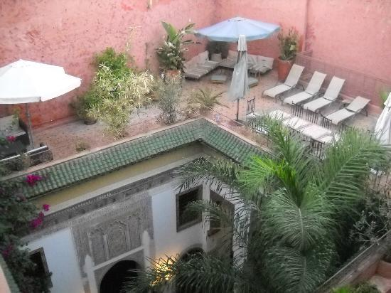 Riad El Ma: a view from the terrace