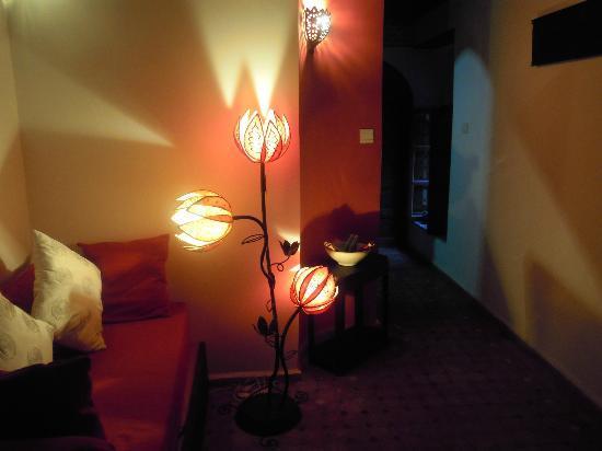 Riad El Ma: a view of the room1