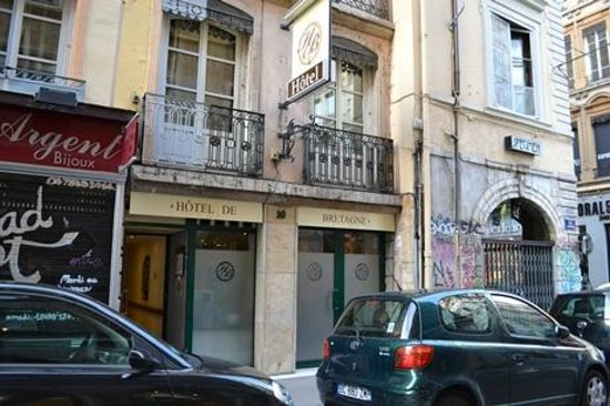 Hotel de Bretagne: ホテルの外観