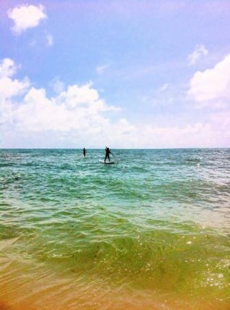 Samui Paddleboard, Windsurf & Yoga SUP: stand up paddle boarding on Lamai beach