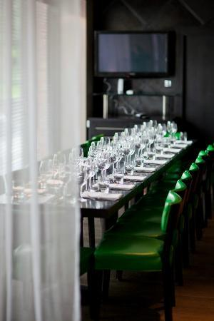 Piccolino: The Private Dining Room seats up to 20 guests and can be hired for exclusive use.