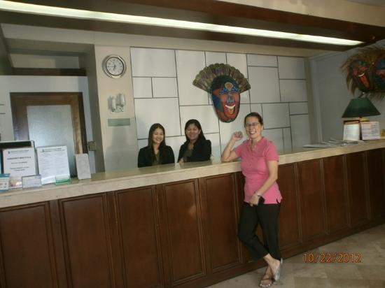 Bacolod Pension Plaza: with the accommodating staff