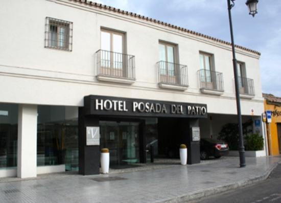 Vincci Seleccion Posada del Patio: De gevel van het hotel