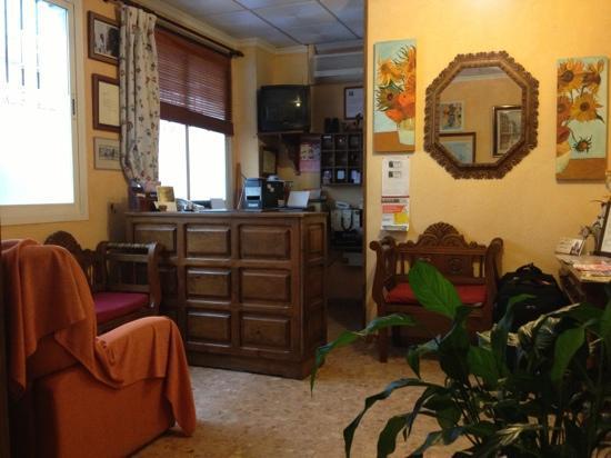 Hotel Arunda I: Empfang