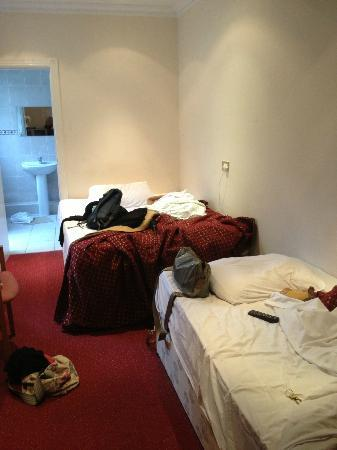 Hotel Balkan: the room