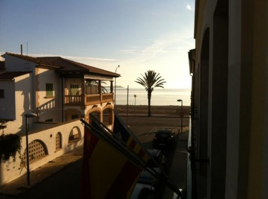 Aparthotel Galeon Suites: view from room at 8am - gonna be a great day!