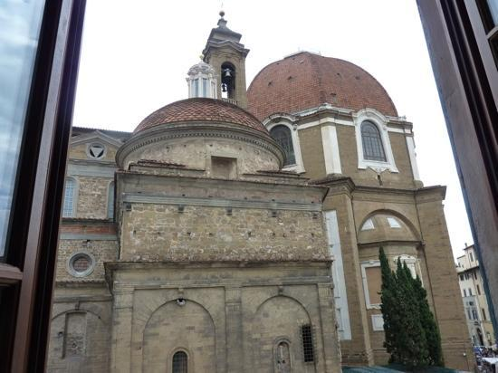 Corte dei Medici: view from room