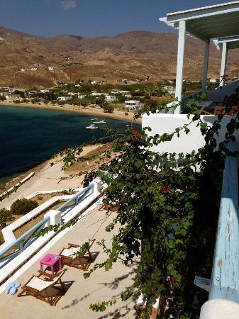 Studios Amfitriti: View from balcony