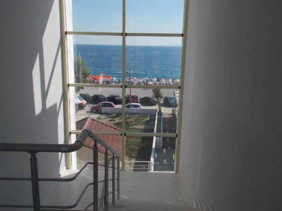 Dhermi, Albania: View from inside - out