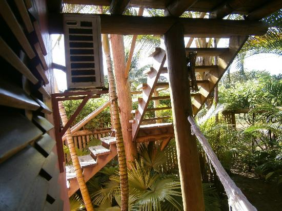 Pousada Vira Canoa: quarto externa