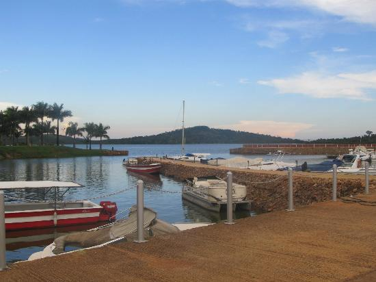 Munyonyo Commonwealth Resort: victoria lake
