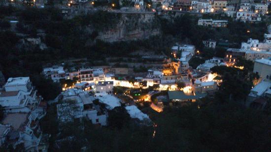 Villa Verde: Veduta romantica di sera