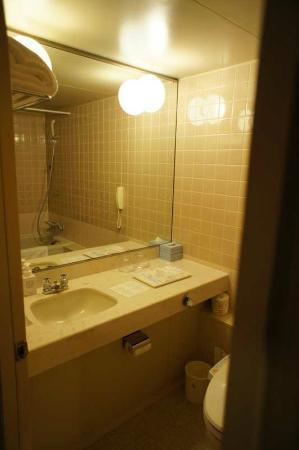 Hotel Nikko Osaka: Bathroom